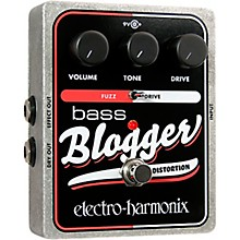 Open Box Electro-Harmonix XO Bass Blogger Distortion Effects Pedal