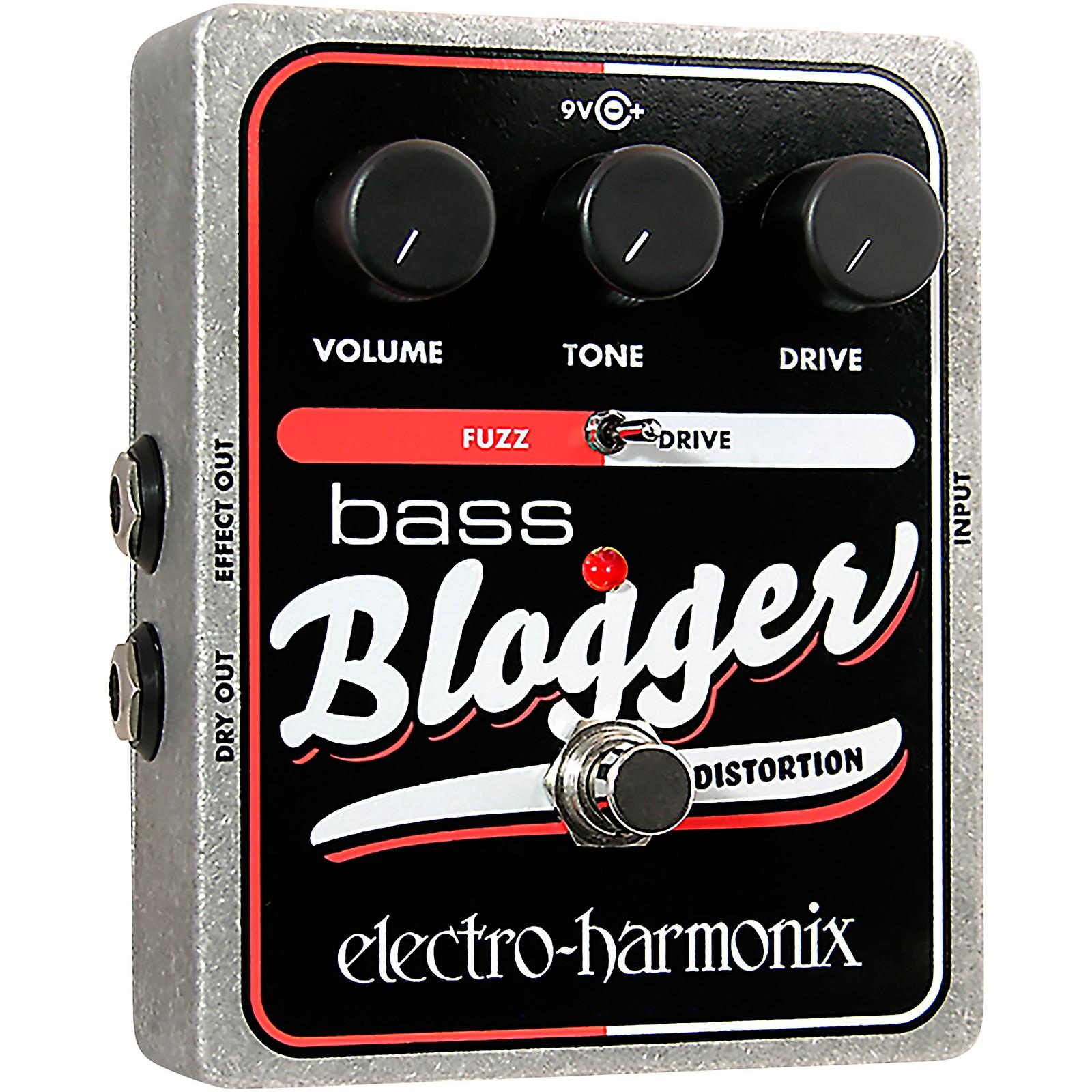Electro-Harmonix XO Bass Blogger Distortion Effects Pedal