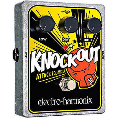 Electro-Harmonix XO Knockout Attack Equalizer Guitar Effects Pedal