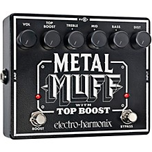 Open BoxElectro-Harmonix XO Metal Muff with Top Boost Distortion Guitar Effects Pedal