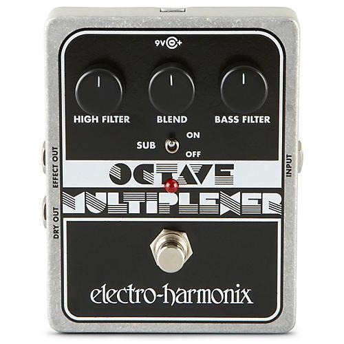 Electro-Harmonix XO Octave Multiplexer Guitar Effects Pedal