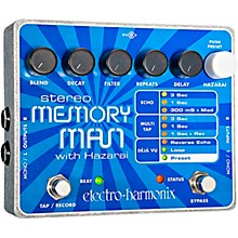 Electro-Harmonix XO Stereo Memory Man with Hazarai Delay Guitar Effects Pedal