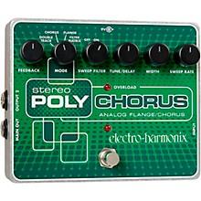 Open BoxElectro-Harmonix XO Stereo Polychorus Analog Flanger and Chorus Guitar Effects Pedal