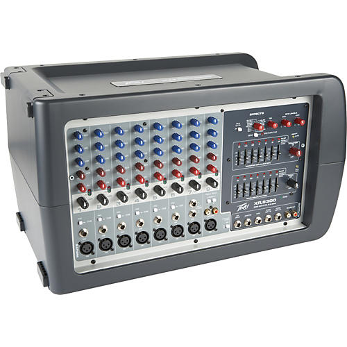 peavey xr 8300 powered mixer musician s friend rh musiciansfriend com Peavey Small Monitors Peavey Portable Powered Mixer XR