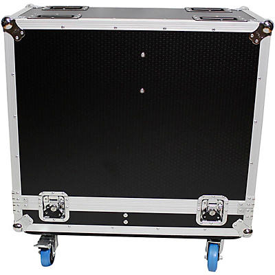 "ProX XS-2X12SPW Universal 2 Speakers ATA Flight Case for 12"" Loudspeakers"