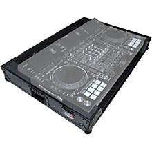 Open BoxProX XS-DDJRZXWBL Black ATA Style Flight Road Case for Pioneer DDJ-RZX DJ Controller with Wheels