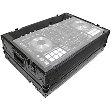 Open Box ProX XS-DDJSXBL All Black ATA Style Flight Road Case for Pioneer DDJ-SX and DDJ-SX2