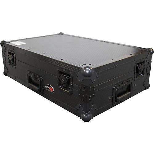 ProX XS-DDJSXWLT ATA Style Flight Road Case with Sliding Laptop Shelf and Wheels for Pioneer DDJ-SX, DDJ-SX2 and DDJ-RX DJ Mixers