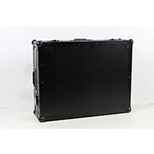 Open BoxProX XS-DJ808WBL Black ATA Style Flight Road Case for Roland DJ-808 or Denon MC7000  w/ Wheels Black on Black