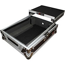 Open Box ProX XS-M12LT ATA Style Flight Road Case with Wheels and Sliding Laptop Shelf for 12 in. DJ Mixers