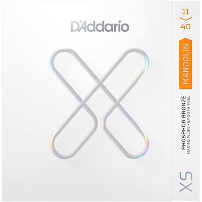 D'Addario XS Mandolin Phosphor Bronze Strings (11-40)