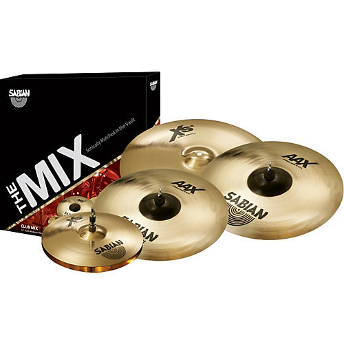 sabian xs20 aax mix cymbal pack musician 39 s friend. Black Bedroom Furniture Sets. Home Design Ideas