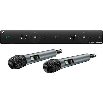 Sennheiser XSW 1-835 DUAL-A Two Channel Handheld Wireless System with e 835 Capsules