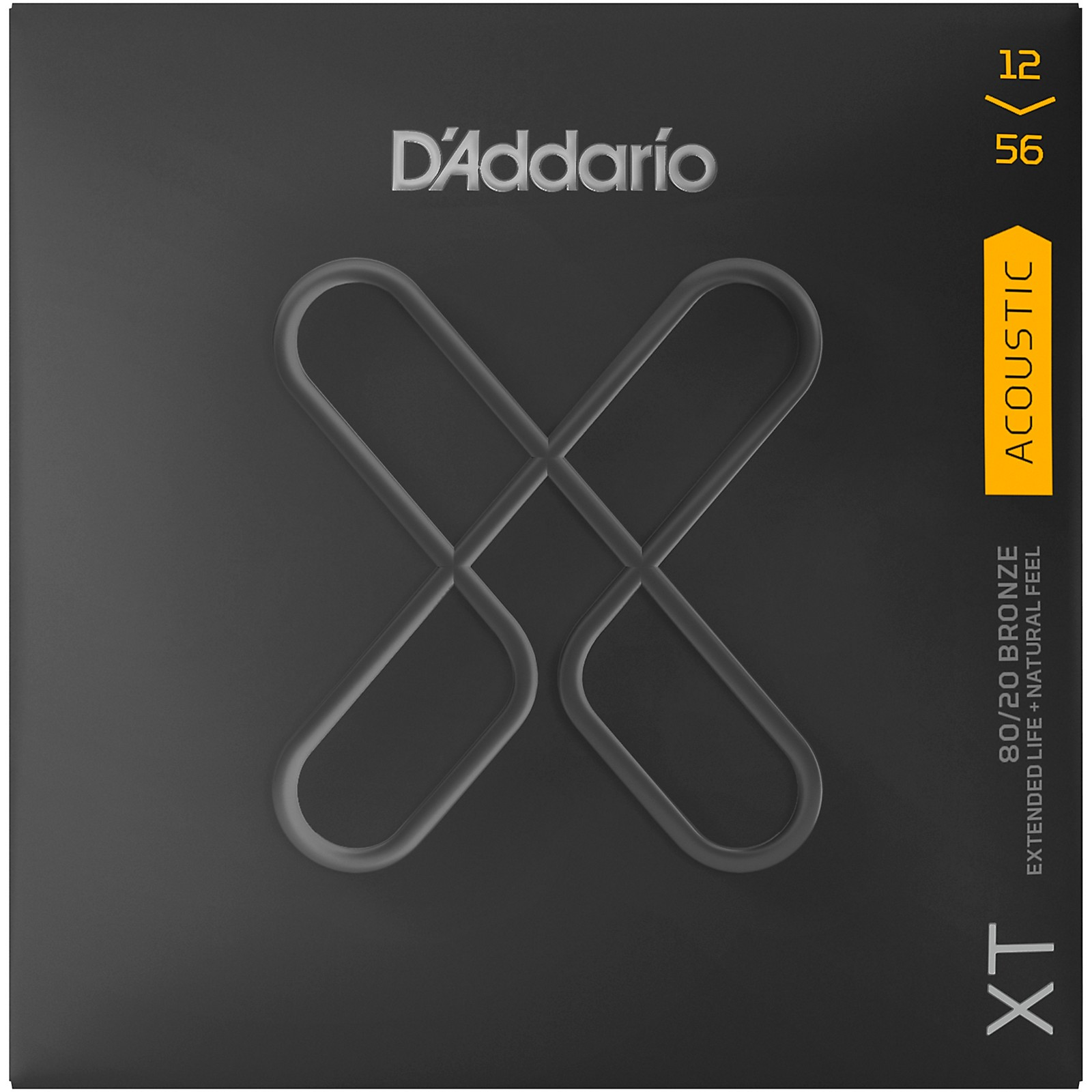 D'Addario XT Acoustic 80/20 Bronze Strings, 12-56