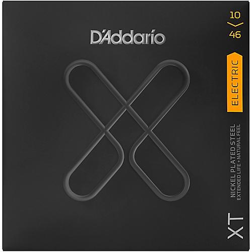 D'Addario XT Electric Guitar Coated Strings .010-.046 Custom
