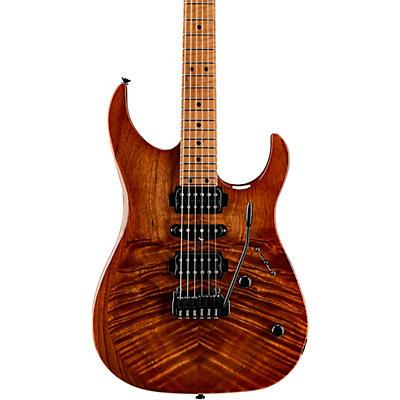 LsL Instruments XT4-DX 24 Fret Exotic HSH Koa Top Electric Guitar