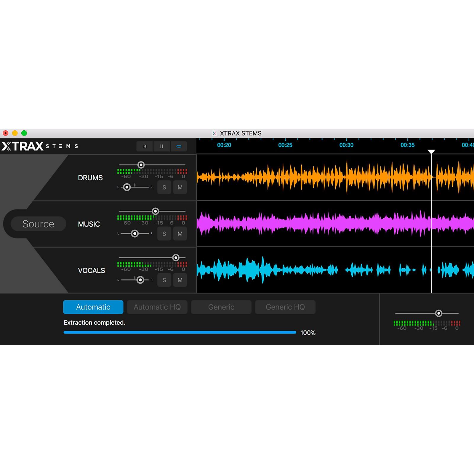 Audionamix XTRAX STEMS V.2.0