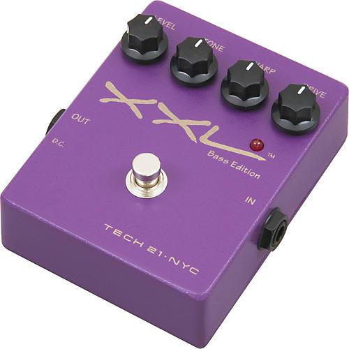 Tech 21 XXL Bass Edition Overdrive Stompbox with Warp