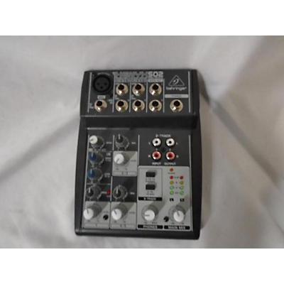 Behringer Xenyx 502 Unpowered Mixer
