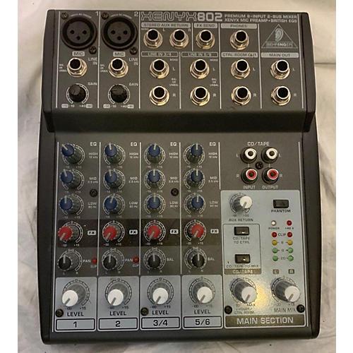 Xenyx 802 Unpowered Mixer