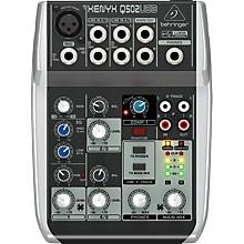Open BoxBehringer Xenyx Q502USB Mixer
