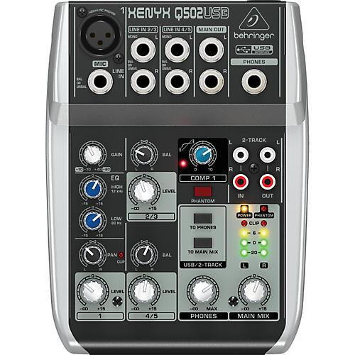Behringer Xenyx Q502USB Mixer Condition 1 - Mint