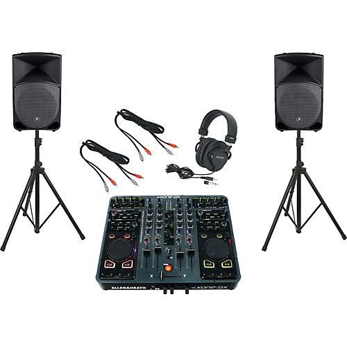 Allen & Heath Xone:DX / Mackie Thump TH-15A DJ Package