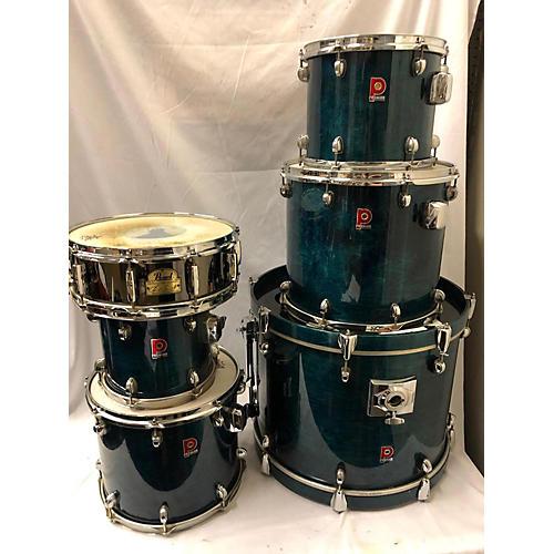 Premier Xpk Drum Kit Turquoise
