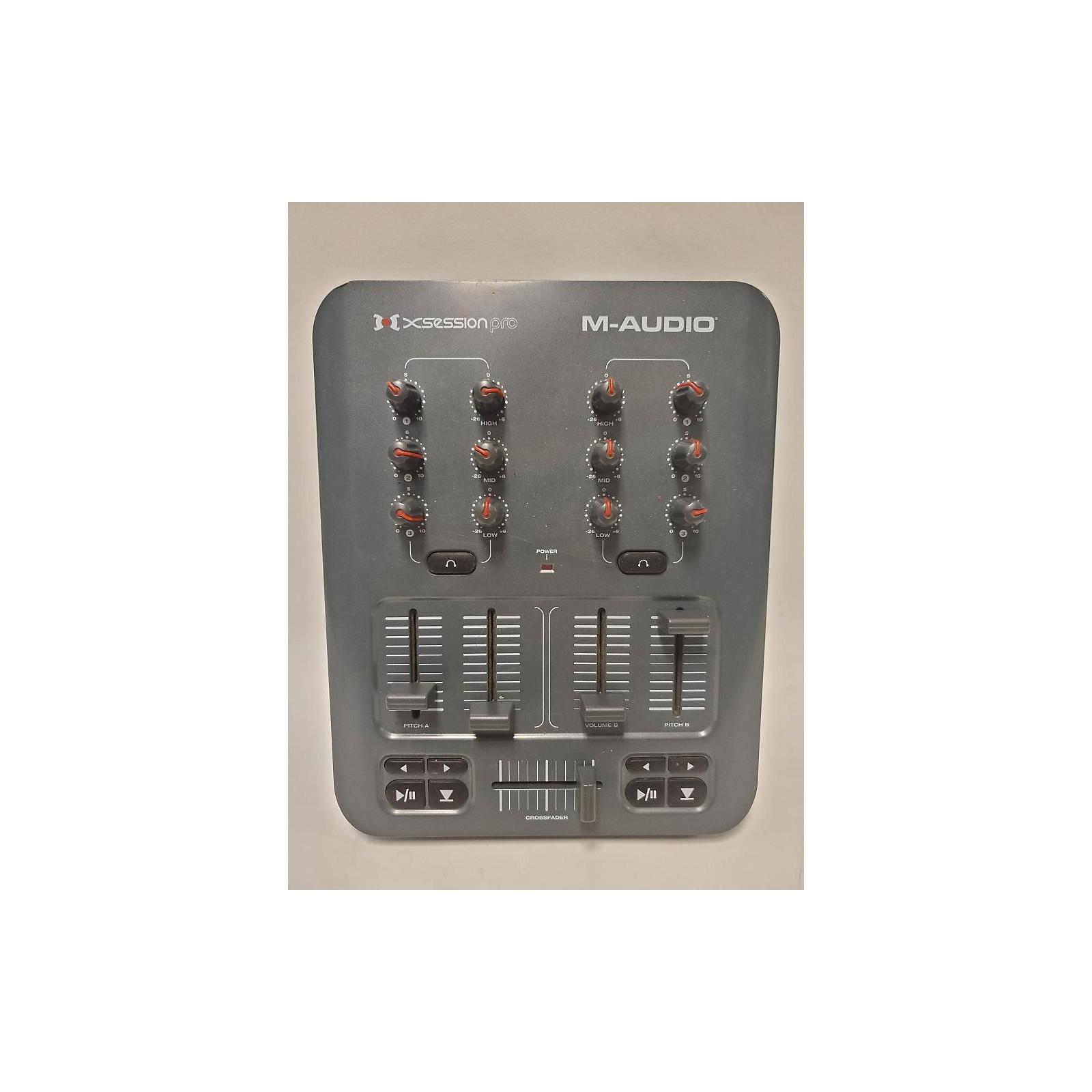 M-Audio Xsession Pro DJ Mixer
