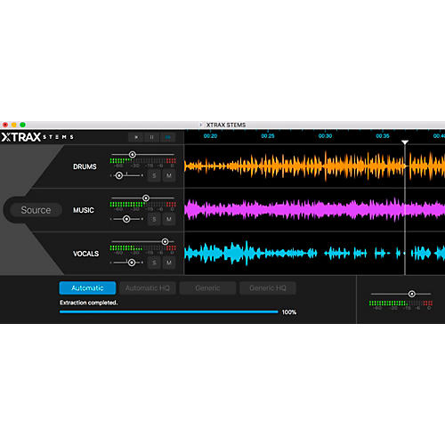 Audionamix XtraX STEMS