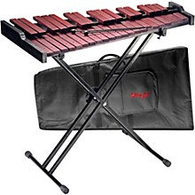 Open BoxStagg Xylo-Set 37 HG 3 Octave Xylophone with Stand and Bag