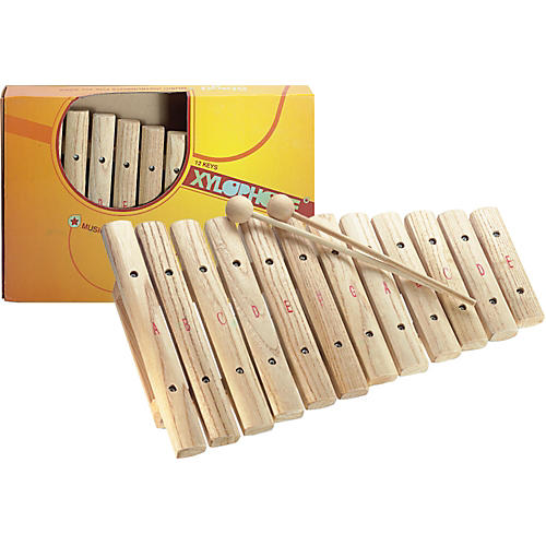 Stagg Xylophone, 12 Keys, A-E