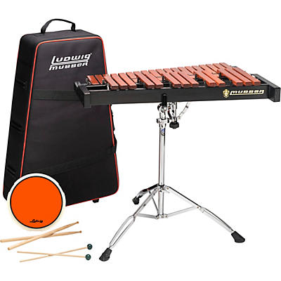 Musser Xylophone Kit 2.5 Octave With Pad, Stand, Bag