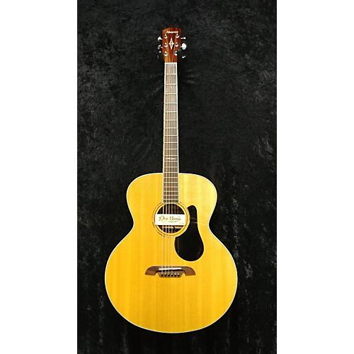 Alvarez YB70 Baritone Guitar Acoustic Electric Guitar Natural