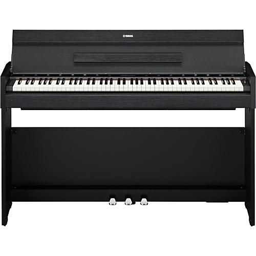 yamaha ydp s52 88 note weighted action console digital piano black walnut musician 39 s friend. Black Bedroom Furniture Sets. Home Design Ideas