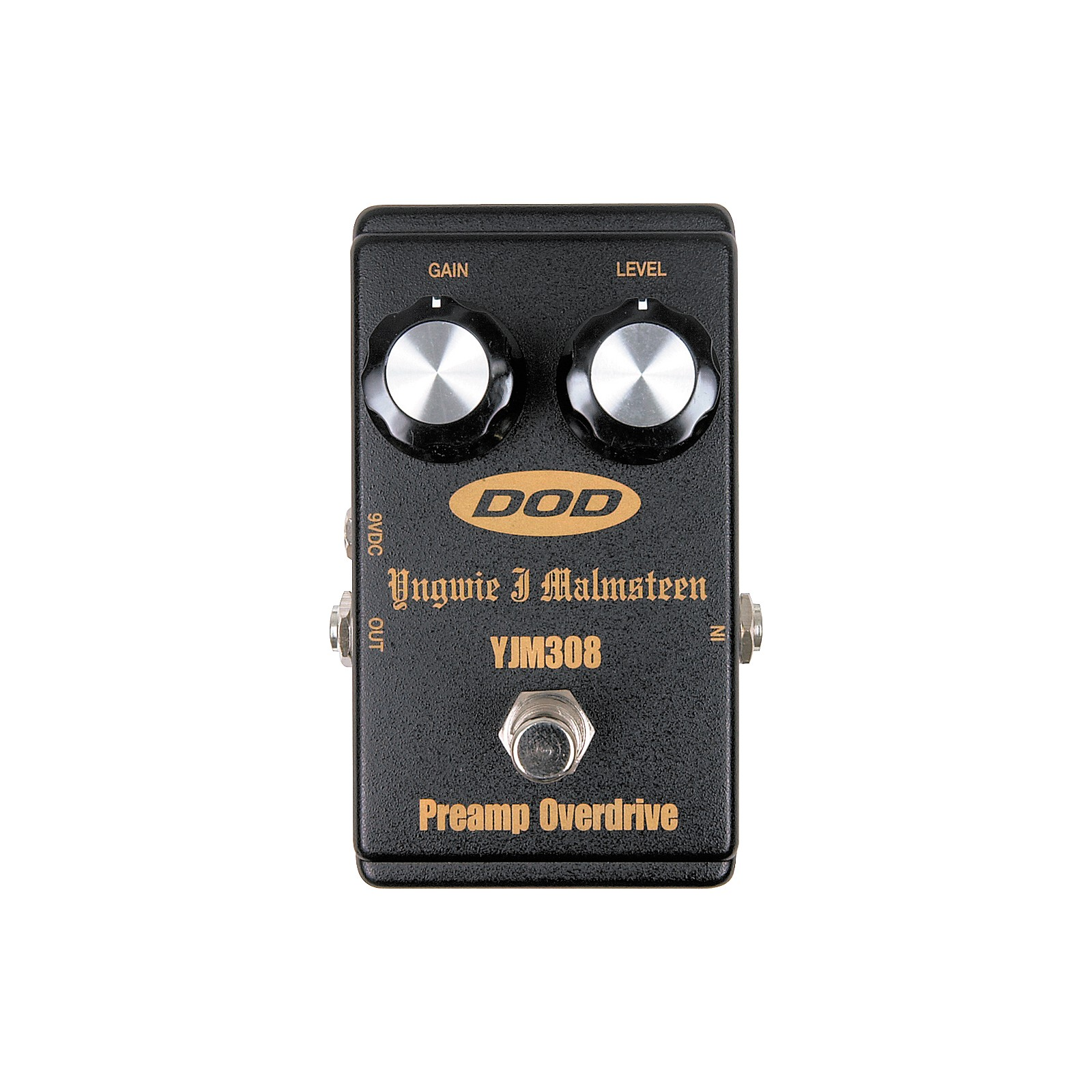 Dod Yjm308 Yngwie J Malmsteen Signature Overdrive Pedal