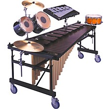 YM2400 4 1/3 Octave Acoustalon Marimba Mallet Percussion Multi Frame with Drop Cover