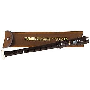 Yamaha YRN-302B Professional Sopranino Recorder with Baroque Fingering