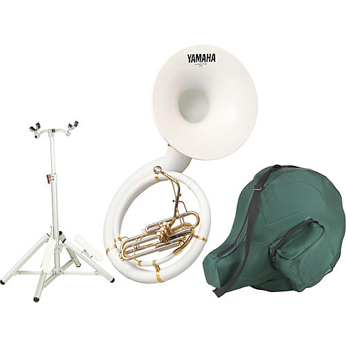 Yamaha YSH-301BSH Kit with Fiberglass BBb Sousaphone and Hardware Stand