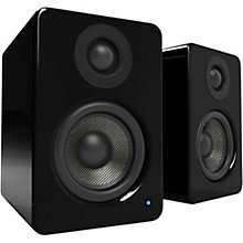 YU2 Powered Desktop Speakers Gloss Black