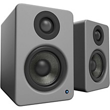 YU2 Powered Desktop Speakers Matte Grey