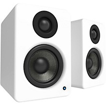 YU2 Powered Desktop Speakers Matte White