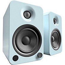 YU4 Powered Speakers with Bluetooth and Phono Preamp Gloss Teal
