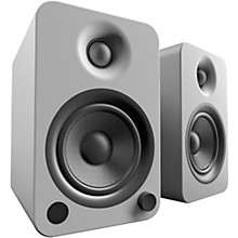 YU4 Powered Speakers with Bluetooth and Phono Preamp Matte Grey