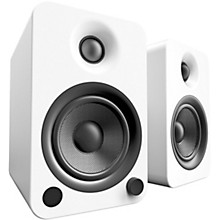 YU4 Powered Speakers with Bluetooth and Phono Preamp Matte White