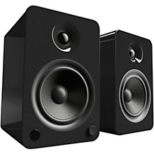 YU6 Powered Speakers with Bluetooth and Phono Preamp Gloss Black