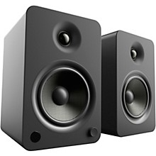 YU6 Powered Speakers with Bluetooth and Phono Preamp Matte Black