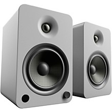 YU6 Powered Speakers with Bluetooth and Phono Preamp Matte Grey
