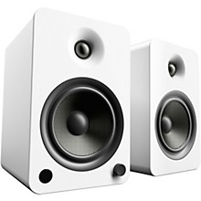 YU6 Powered Speakers with Bluetooth and Phono Preamp Matte White