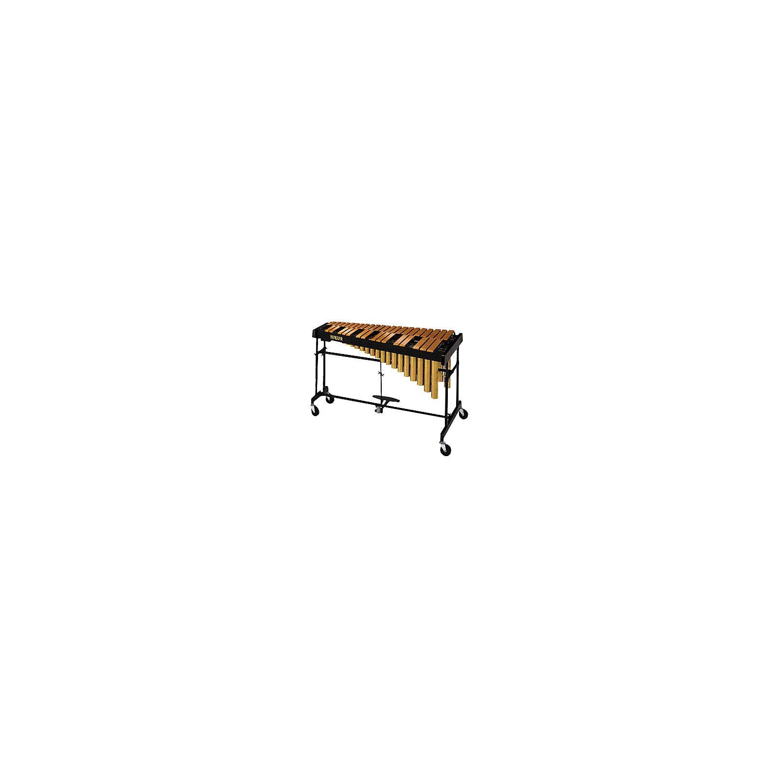 Yamaha YVRD-2700GC Gold Intermediate Vibraphone With Multi-Frame II Stand and Cover 582355